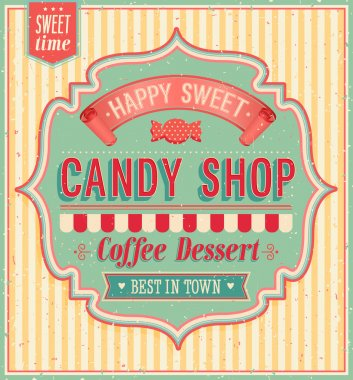 Candy shop.