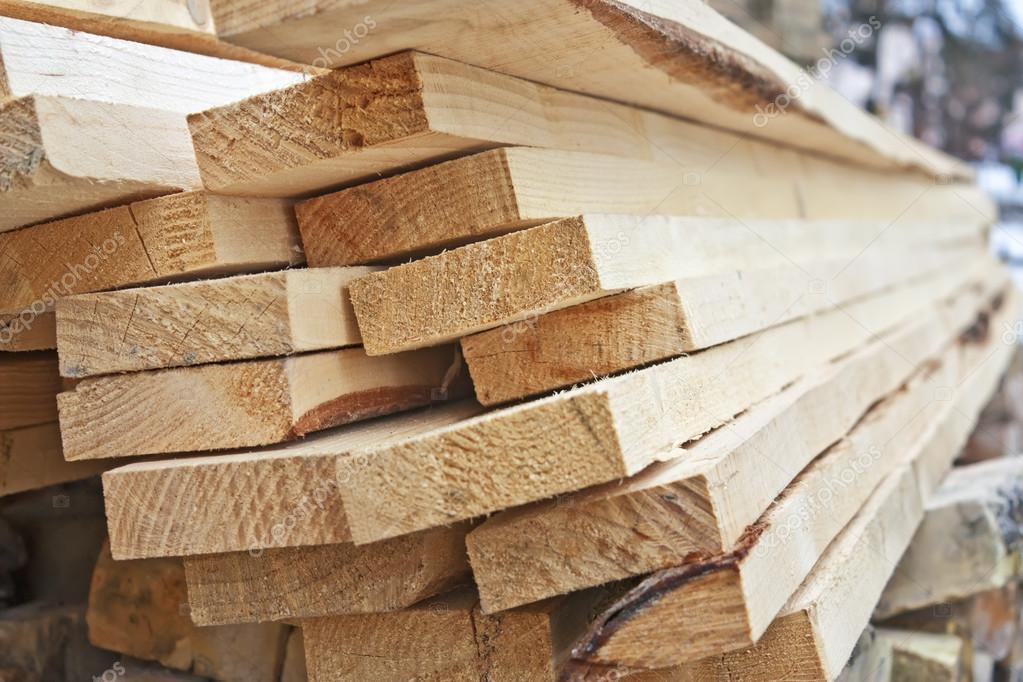 A pile of wooden planks — stock photo alexvav