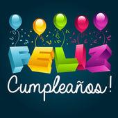 Všechno nejlepší k narozeninám ve španělštině