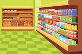 Fényképek szupermarket