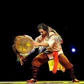 Čínská Kuo etnické tanečnice