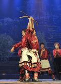 Tibetské etnické tanečnice