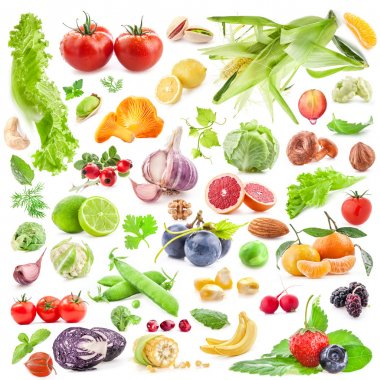 Big Collection of fruits and vegetables