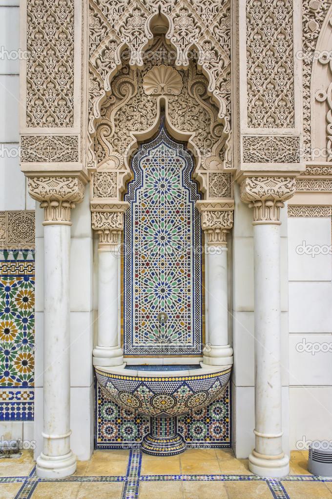 moroccan architecture stock photo fadzlyster 27344713