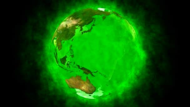 szépség és a zöld bolygó Föld - animáció