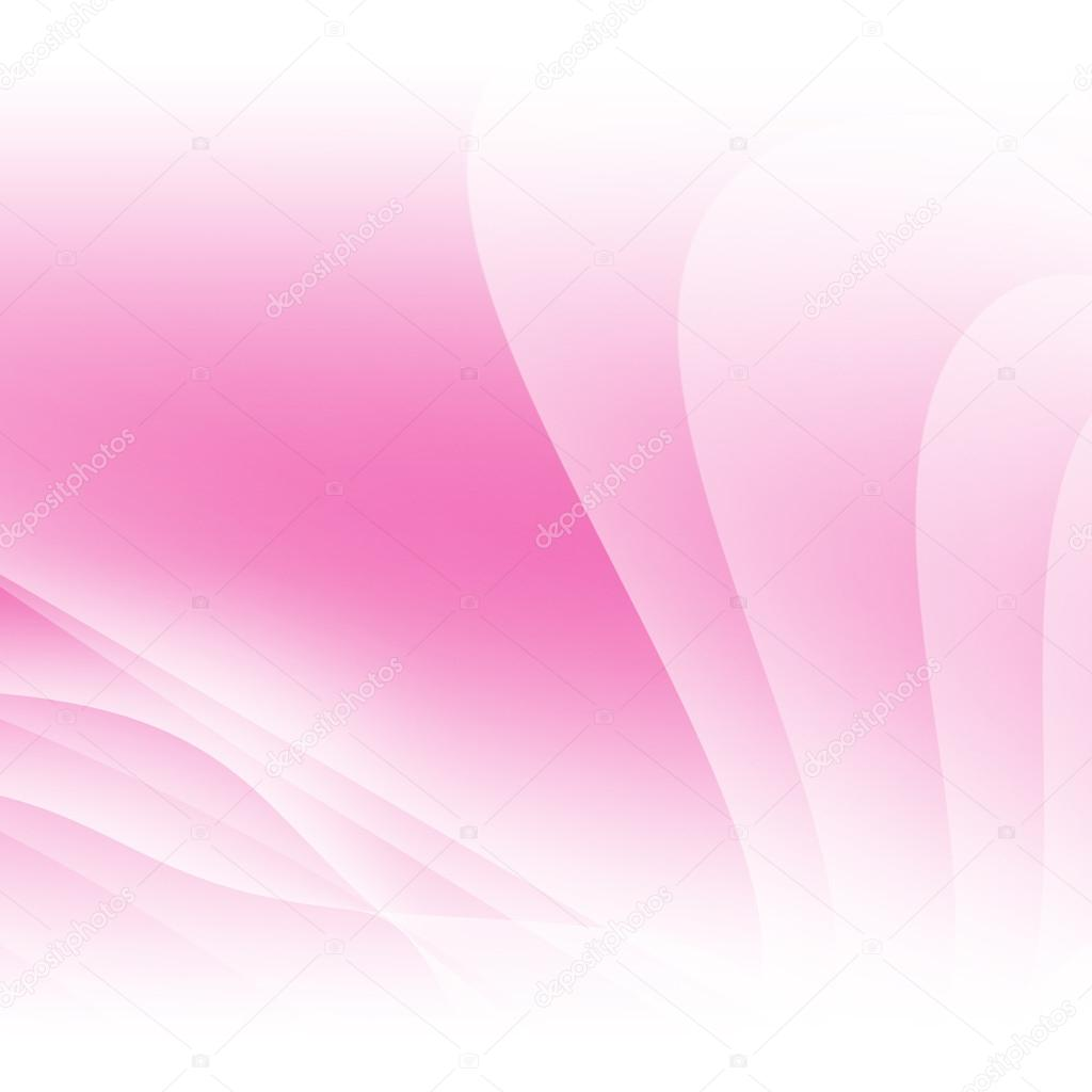 pink light wave abstract background design � stock photo