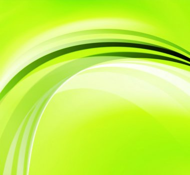 Green Abstract Background stock vector