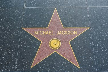Michael Jackson star in Hollywood