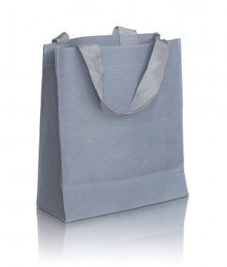 gray canvas bag