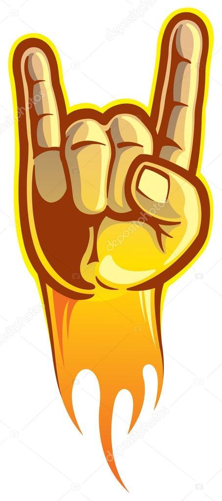 You Rock Symbol Stock Vectors Royalty Free You Rock Symbol