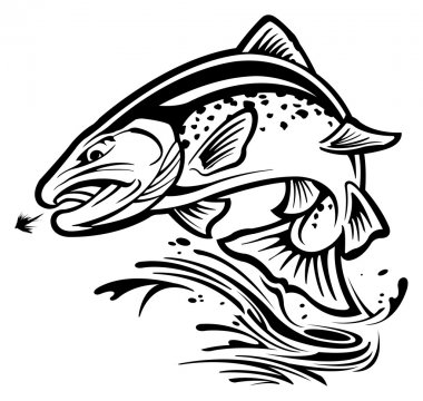 Download Trout Free Vector Eps Cdr Ai Svg Vector Illustration Graphic Art