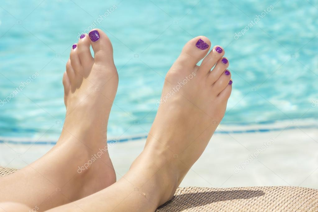 Beautiful Sexy Feet And Toes By The Swimming Pool Photo By Yobro10
