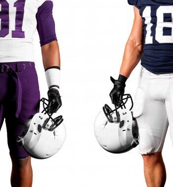 American football players