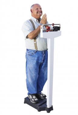 Overweight Senior Male Hoping to Lose Weight