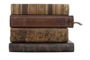 Antique old books