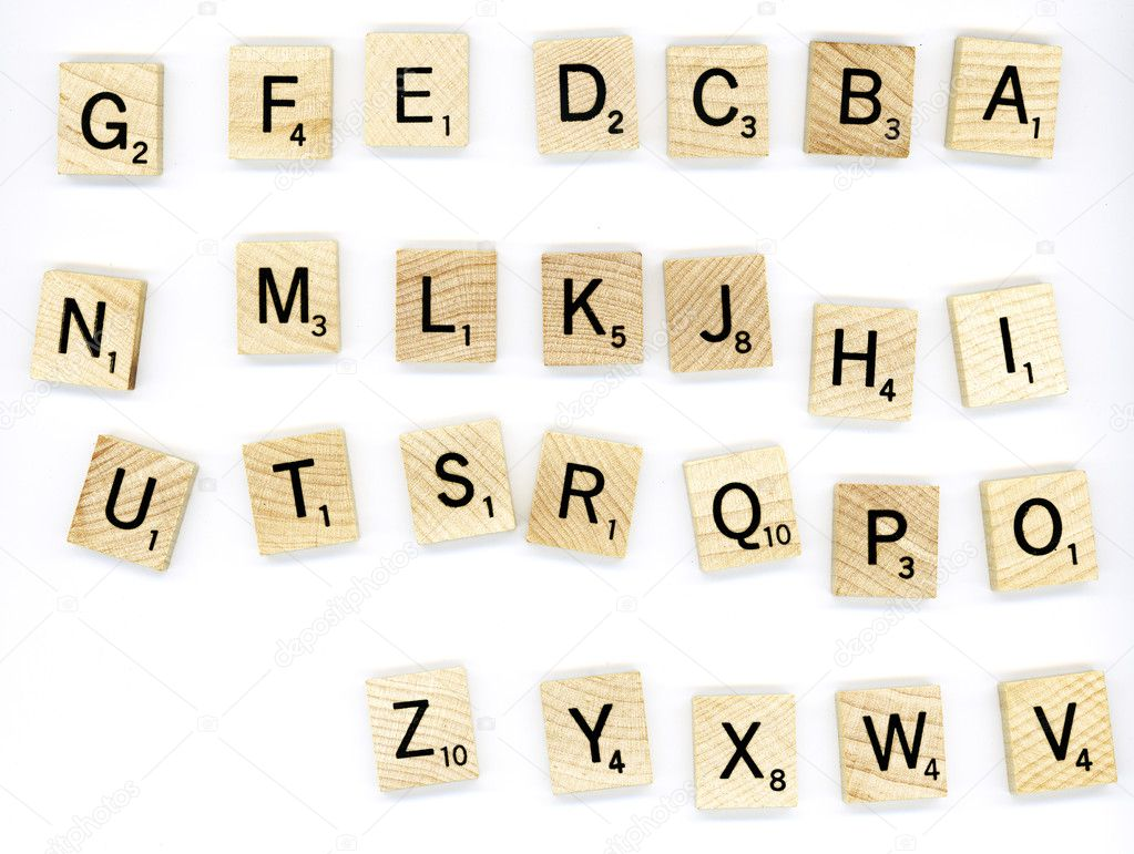 scrabble holz buchstaben bl cke stockfoto yobro10 41335371. Black Bedroom Furniture Sets. Home Design Ideas