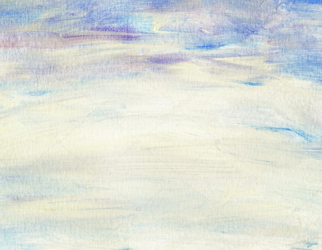 Abstract watercolor sky, clouds — Stock Photo © flas100 ...