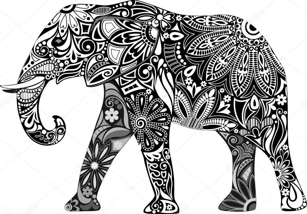 The cheerful elephant.