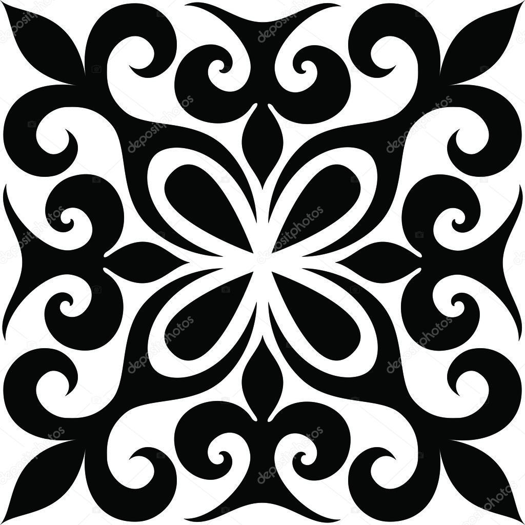 Ethnic ornament clipart vector