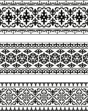 Carpets. Oriental ornament stock vector