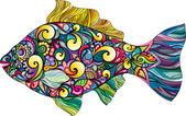 Fotografie Fisch mit ornament
