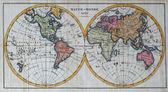 Původní mapa antického světa