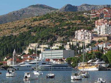Dubrovnik, Croatia, august 2013, new Dubrovnik harbor