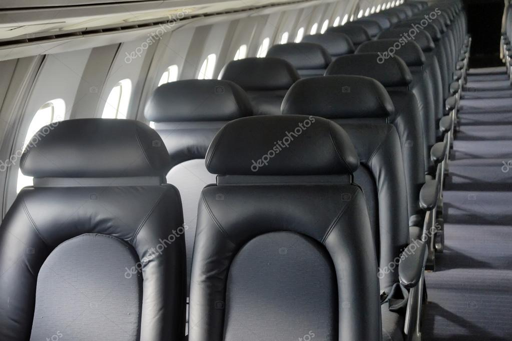 Interior Cabin Of Air France Concorde Airplane With Close Up On U2014 Stock  Photo