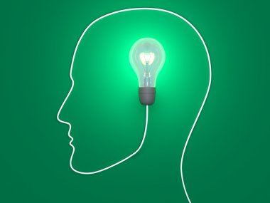 One idea in human mind