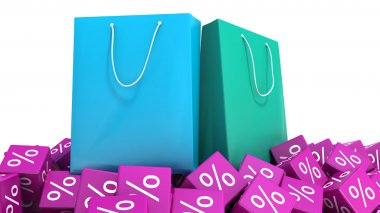 shopping bags and discounts