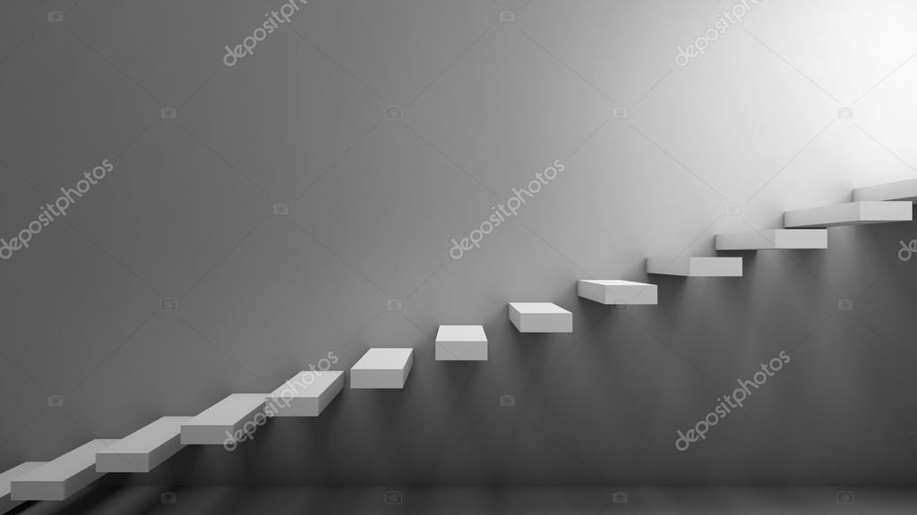 treppe in minimalistischem stil bilder, weg in die freiheit. treppe in einem minimalistischen stil, Design ideen