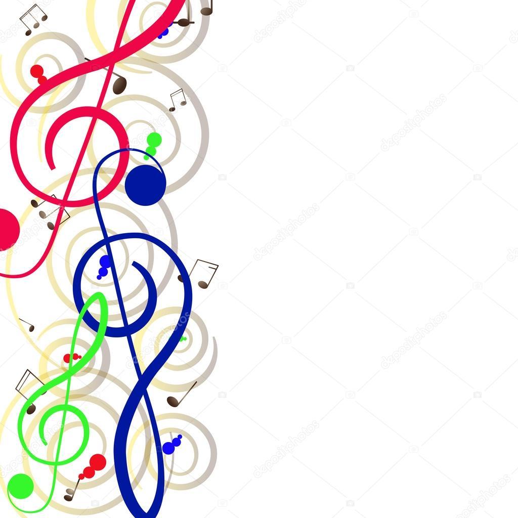 Chiave Di Violino Per Il Vostro Disegno Un Illustrazione Vettoriale