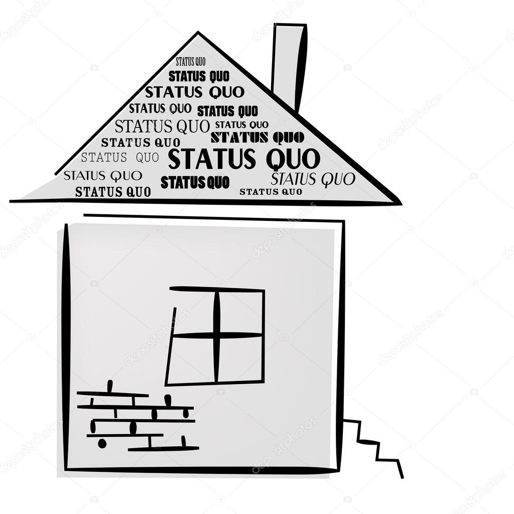 Status Quo words on home.