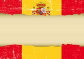 Spanyolország karcos zászló