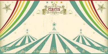 Vintage circus card.