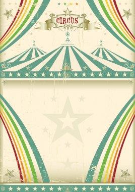 A vintage circus for your entertainment. clip art vector