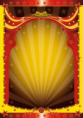 A background for circus event