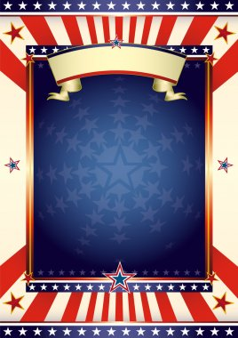 American cool flag.