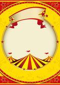 Fotografia sfondo vintage circus