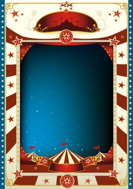 Vintage circus background