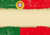 Fényképek Portugália karcos zászló.