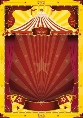 Top circus poster