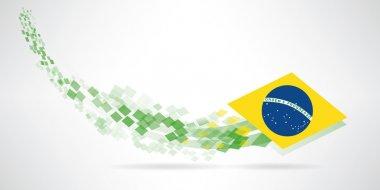 Modern brazil banner