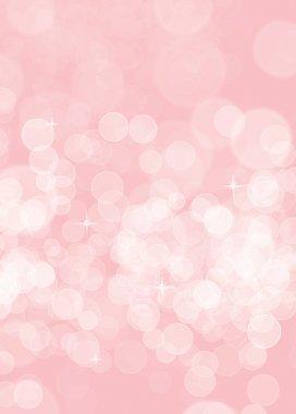 Pink birthday blurred background