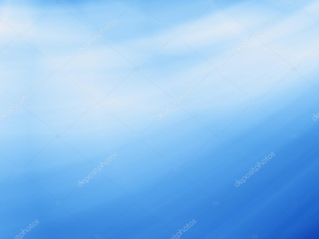Abstract Sky Blue Wallpaper Design Stock Photo