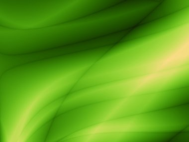 Wave green bio abstract design