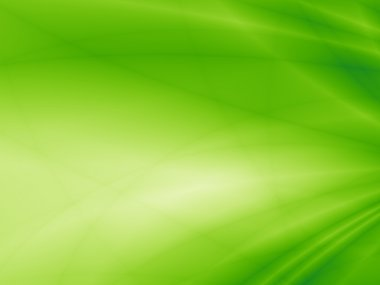 Eco green abstract card space blur art background