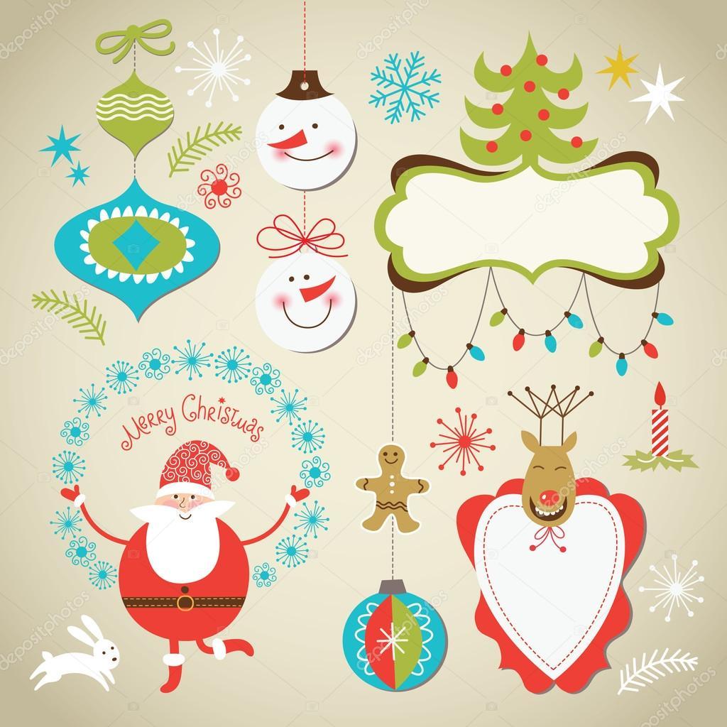 tarjeta de Navidad — Archivo Imágenes Vectoriales © Birdhouse #13778600