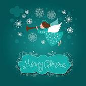 Photo Christmas angel