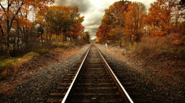 Steel Rails Fall